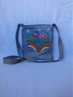 m29m / maľované RIFLOVÉ kvety Messenger Bag, Satchel, Bags, Fashion, Satchel Purse, Purses, Fashion Styles, Satchel Bag, Totes
