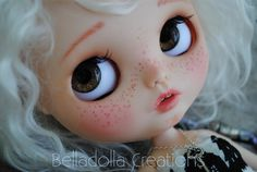 AZEL : Blythe custom with reroot mohair by BellaDollaCreations