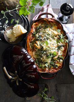 Chicken Spinach Lasagna Recipe