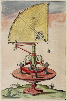 Tycho Brahe, Astronomical Instruments (1598)