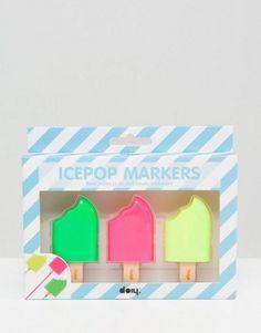 DOIY – Textmarker in Eis am Stiel-Form 10€