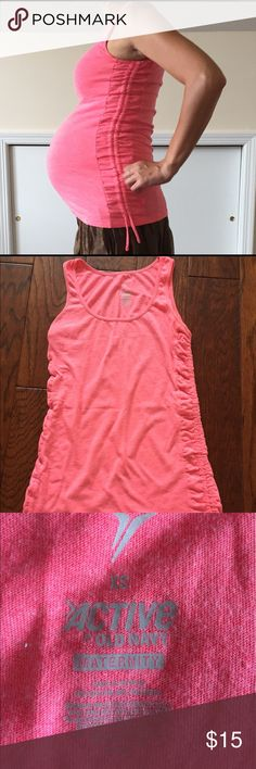 Maternity tank top - XS Maternity tank top - XS - pink - from old navy. Old Navy Tops Tank Tops