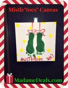 MistleToes canvas