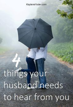 Speak Your Approval ~ What Every Husband Wants to Hear