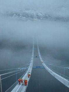 Norway Sky Bridge.