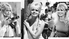 Brigitte Bardot's most beautiful summery hairstyles Brigitte Bardot, Vogue Paris, Magazine Mode, Celebrity Skin, Life Pictures, Saint Tropez, Summer Hairstyles, Culture, Hair Looks