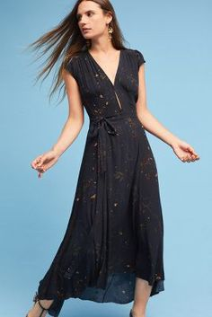 Anthropologie AG Eveline Wrap Dress