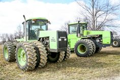 Steiger Puma and Panther in Indiana, USA.