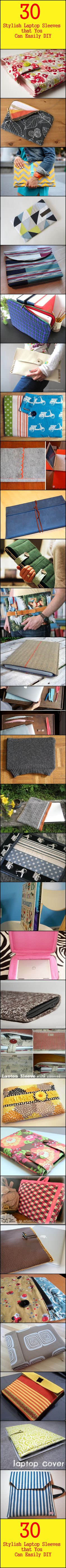 30 Stylish Laptop Sleeves that You Can Easily DIY