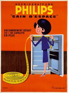 pub :année 60 , réfrigérateur