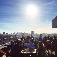 De leukste rooftop bars en dakterrassen van Amsterdam