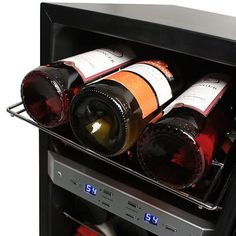 EdgeStar 21 Bottle Free Standing Dual Zone Wine Cooler Secondary Image