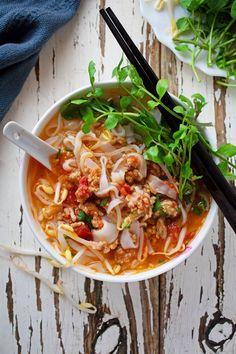 Asian Desserts, Asian Recipes, Healthy Recipes, Ethnic Recipes, Laos Recipes, Healthy Food, Oriental Recipes, Healthy Lunches, Vietnamese Recipes