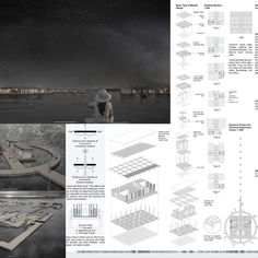 These winning ideas offer floating solutions to aid Cambodia's Tonlé Sap Lake community Architecture Presentation Board, Presentation Boards, Architectural Presentation, Architectural Models, Architectural Drawings, Active Design, Tonle Sap, Bamboo Structure, Architecture Portfolio