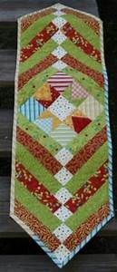 table runner: NEW 883 CHRISTMAS STAR TABLE RUNNER PATTERN