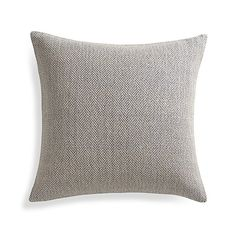 """Mylo Blue 20"""" Pillow with Down-Alternative Insert 