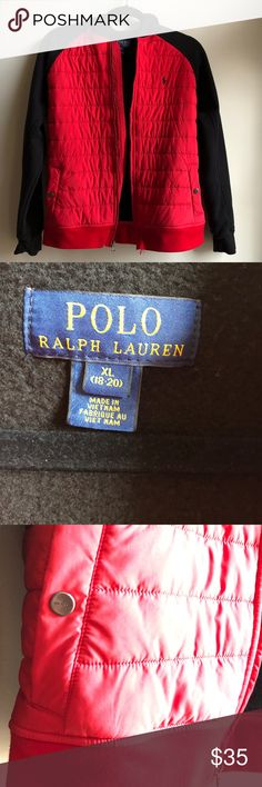 Polo Hoodie Jacket Polo Hoodie Jacket with built in goose down vest. Smoke Free, Pet Free Home. Worn once or twice. Polo by Ralph Lauren Jackets & Coats Puffers