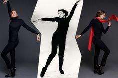 Emma Ferrer e Audrey Hepburn fotografadas pelos Avedon. Vem ver mais!