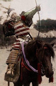 Samurai arquero.
