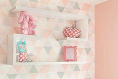 Decoração moderna e delicada para o quarto de bebê - Constance Zahn | Babies & Kids