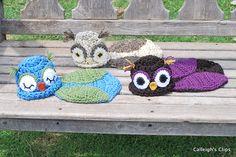 Owlette Owl Cuddle Critter Cape - Newborn Photography Prop pattern by Elisabeth Spivey $5.95