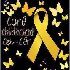 September is childhood cancer awareness month!