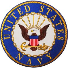 United States Navy Large Patch (10), Multi (Polyester)