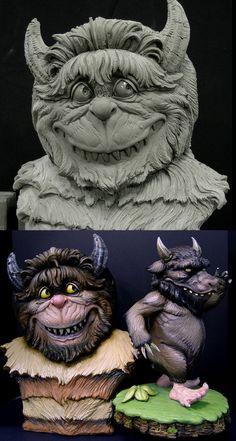 Wild Thing Maquette 2 by DonLanning.deviantart.com on @deviantART
