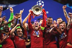 Liverpool win Champions league with a prize money of For winning the UEFA Champions League on Saturday, Liverpool will po. Liverpool Champions League Final, La Champions League, Liverpool Players, Fc Liverpool, Uefa Champions, Liverpool Football Club, Liverpool Tattoo, Mohamed Salah, Zinedine Zidane