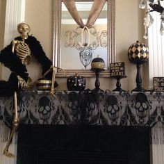 Karen D. is a finalist in Grandin Road's Spooky Decor Photo Challenge. Click this pin to vote daily, through October 28th-the four spirited scenes that get the most votes will each receive a $2,500 Grandin Road gift card!