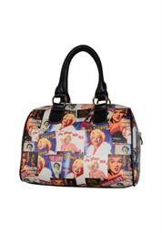 Women's Marilyn Forever Beautiful Marilyn Monroe™ Collage Satchel Handbag MM612