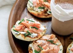 Smoked Trout And Goat Cheese Bites Recipe — Dishmaps