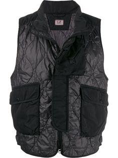 CP Company Quartz Goggle jacket - Black Outdoor Vest, Merchandise Bags, Black Quilt, Neue Trends, Outfit, Military Jacket, Women Wear, Mens Fashion, Tops