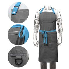 BUILD YOUR OWN BIBB APRON | Butcher and Baker