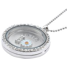 This Zodaca necklace's locket charm will make a special gift to yourself or to your loved one.
