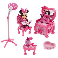 Minnie Mouse Beauty Shop Play Set | Play Sets & More | Disney Store