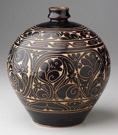 Tzu Chou bottle –   960 – 1600 AD