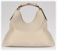 Gucci Horsebit Hobo in White Leather - will take this bag in any color!!  <3 it!!