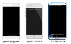 Lenovo Sisley S90 vs Apple iPhone 6 vs HTC Desire 820 | Best Comparison
