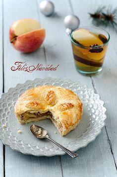 Tarta de manzana especiada con jengibre