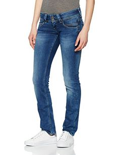 488e3cd76bbf Pepe Jeans Damen Jeans Venus Blau (Denim D24) 33W 32L. Fünf Tasche