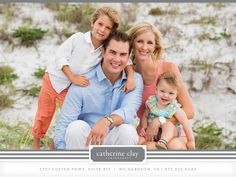 Family beach pictures, Florida, beach clothing ideas, Watercolor pictures, Seaside pictures // Catherine Clay Photography