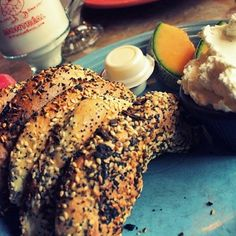 A bagel from Saint-Viateur Bagels in Montreal, Quebec | 23 Of The Most Delicious Cheap Eats In Canada