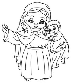 come to jesus catholic coloring page - Father Coloring Page Catholic