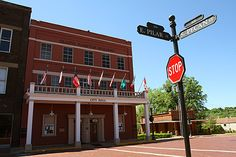 """Nacogdoches, Texas - The """"oldest town in Texas"""""""