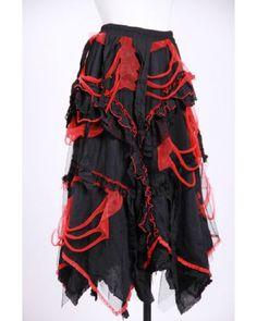 Genteel Skirt Red