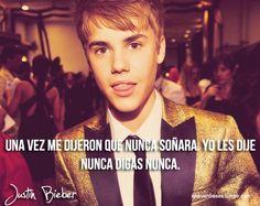Justin #frases