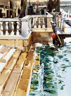 David Morris WATERCOLOR Learn Watercolor Painting, Watercolor Pictures, Watercolor Tips, Diy Painting, Color Pencil Art, Fine Art Gallery, Beautiful Paintings, Amazing Art, Design Art