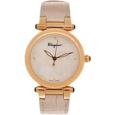 SALVATORE FERRAGAMO Wrist watch found on Polyvore