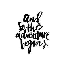 And so the adventure begins, natuurlijk begint dat bij jezelf - www.instawall.nl